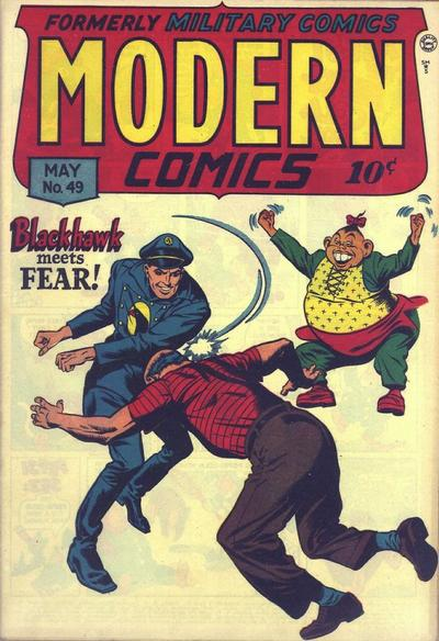 Cover for Modern Comics (Quality Comics, 1945 series) #49