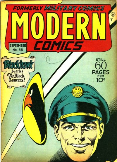 Cover for Modern Comics (Quality Comics, 1945 series) #53