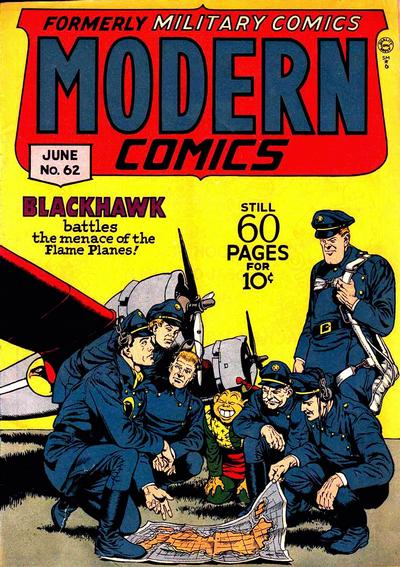 Cover for Modern Comics (1945 series) #62