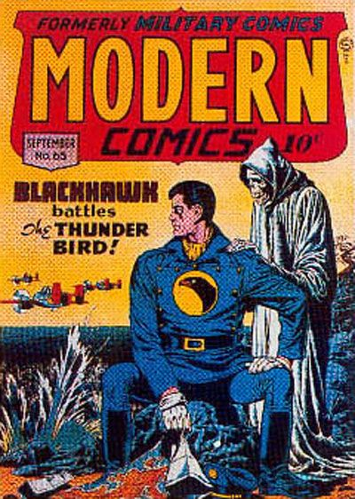 Cover for Modern Comics (Quality Comics, 1945 series) #65