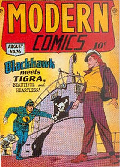 Cover for Modern Comics (Quality Comics, 1945 series) #76