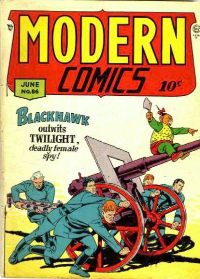 Cover for Modern Comics (Quality Comics, 1945 series) #86