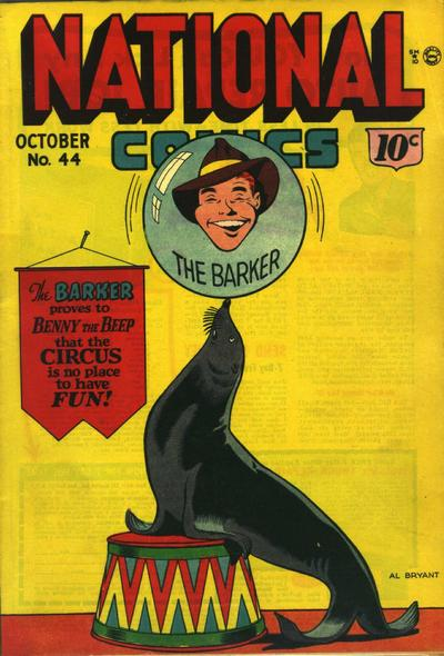 Cover for National Comics (1940 series) #44