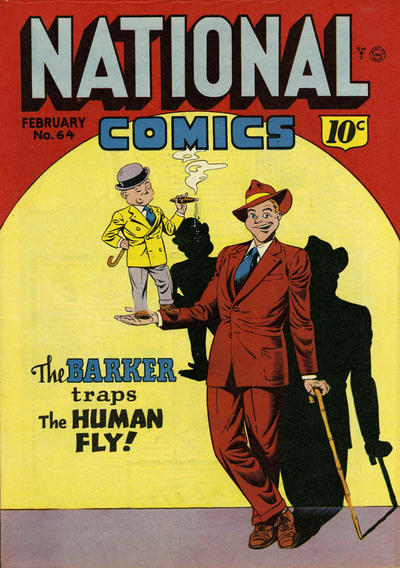 Cover for National Comics (Quality Comics, 1940 series) #64