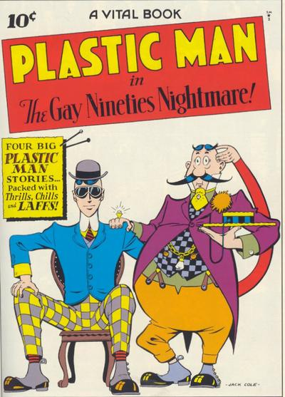 Cover for Plastic Man (Quality Comics, 1943 series) #2