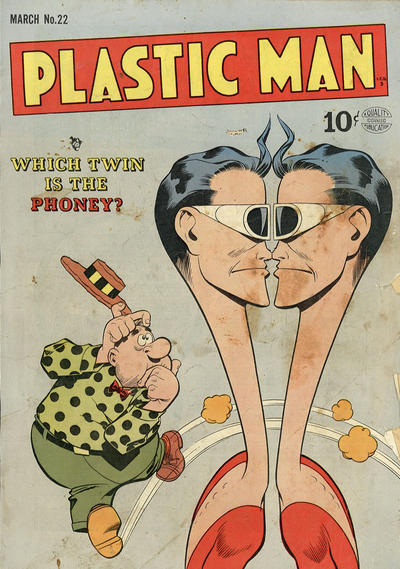 Cover for Plastic Man (Quality Comics, 1943 series) #22