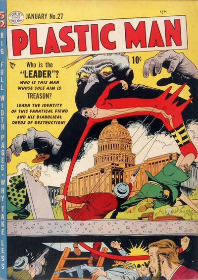 Cover for Plastic Man (1943 series) #27