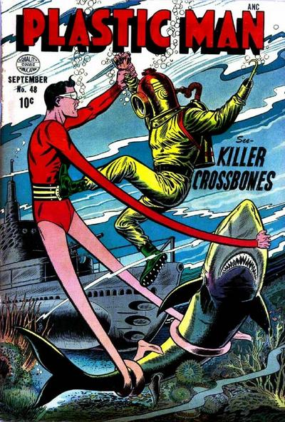 Cover for Plastic Man (Quality Comics, 1943 series) #48
