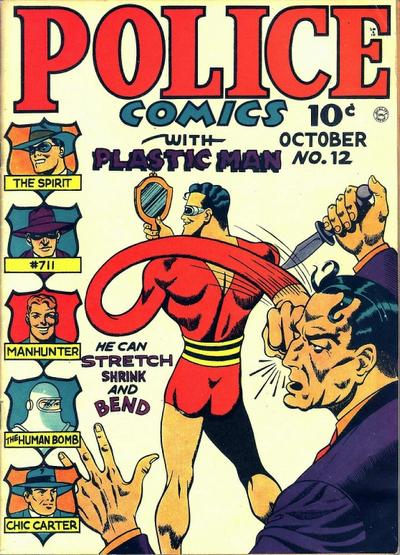 Cover for Police Comics (Quality Comics, 1941 series) #12