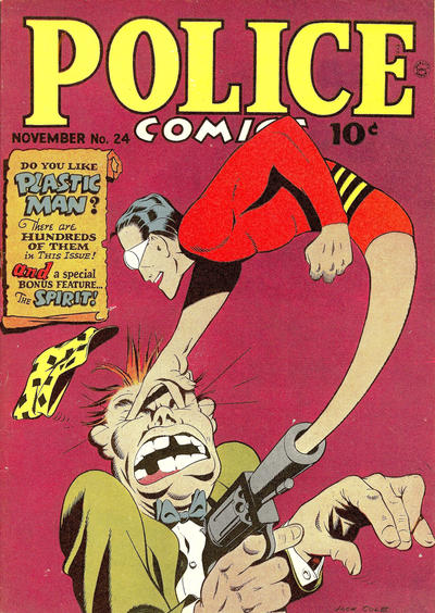 Cover for Police Comics (Quality Comics, 1941 series) #24