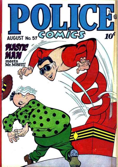 Cover for Police Comics (Quality Comics, 1941 series) #57