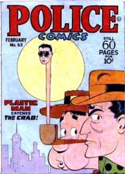 Cover for Police Comics (Quality Comics, 1941 series) #63