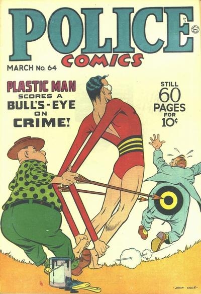 Cover for Police Comics (1941 series) #64