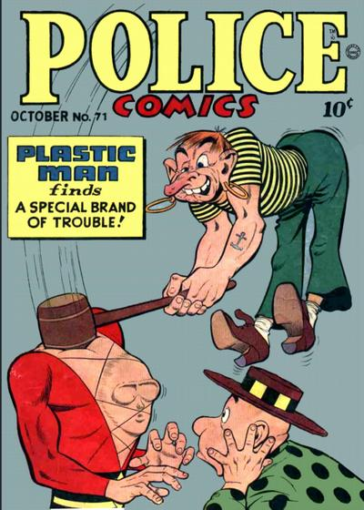 Cover for Police Comics (Quality Comics, 1941 series) #71