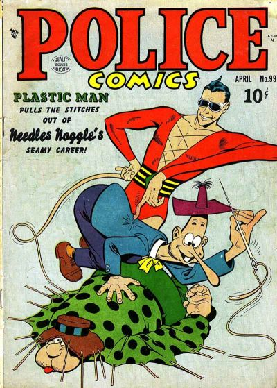 Cover for Police Comics (Quality Comics, 1941 series) #99