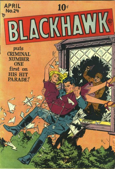 Cover for Blackhawk (1944 series) #24