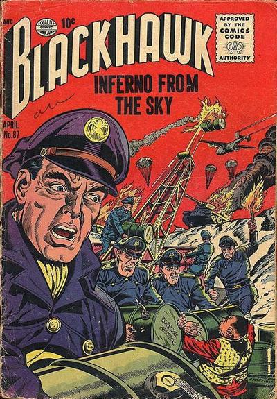 Cover for Blackhawk (Quality Comics, 1944 series) #87