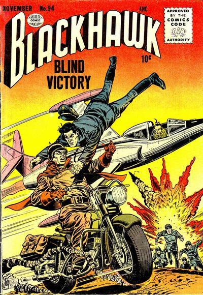 Cover for Blackhawk (Quality Comics, 1944 series) #94