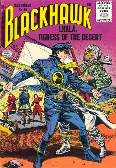 Cover for Blackhawk (Quality Comics, 1944 series) #95