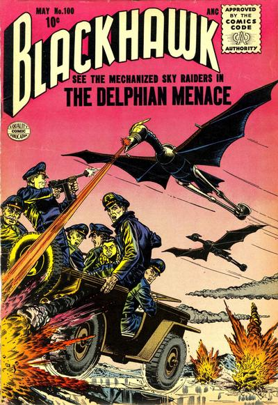Cover for Blackhawk (Quality Comics, 1944 series) #100