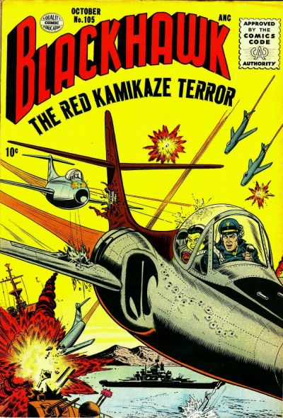 Cover for Blackhawk (Quality Comics, 1944 series) #105