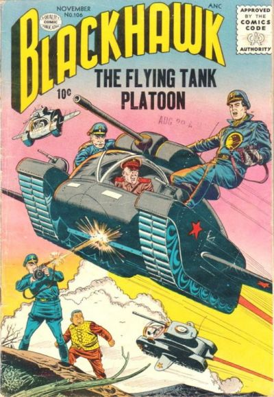 Cover for Blackhawk (Quality Comics, 1944 series) #106
