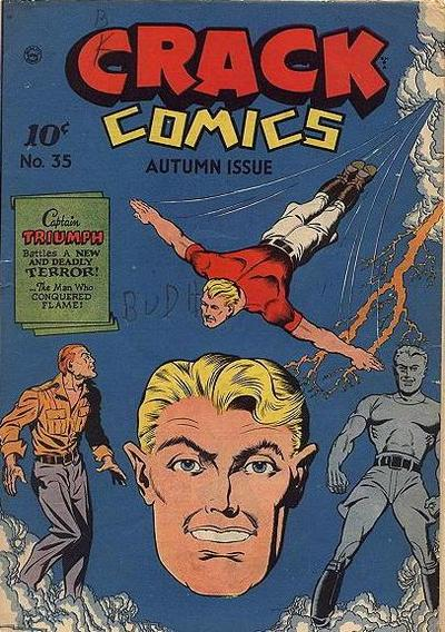 Cover for Crack Comics (1940 series) #35