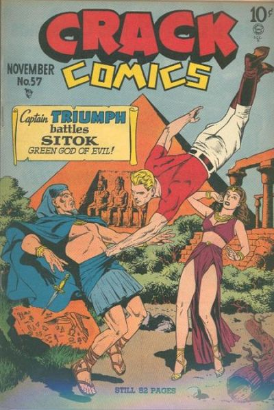 Cover for Crack Comics (Quality Comics, 1940 series) #57