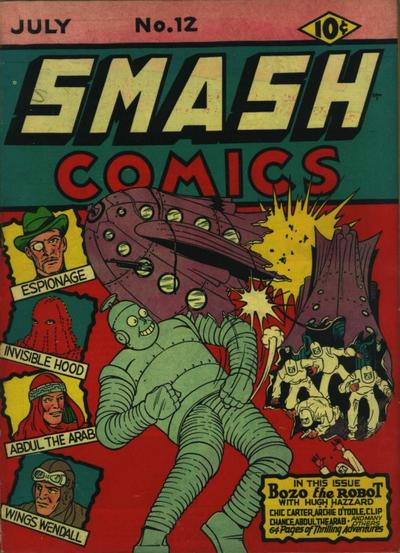 Cover for Smash Comics (1939 series) #12