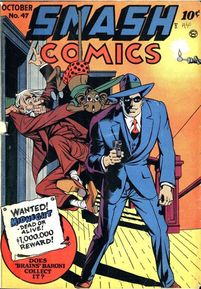 Cover for Smash Comics (1939 series) #47