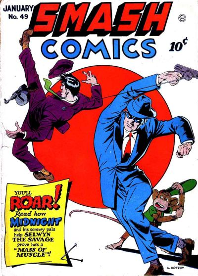 Cover for Smash Comics (Quality Comics, 1939 series) #49
