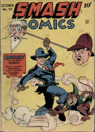 Cover for Smash Comics (1939 series) #55