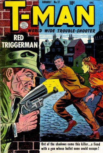 Cover for T-Man (1951 series) #17