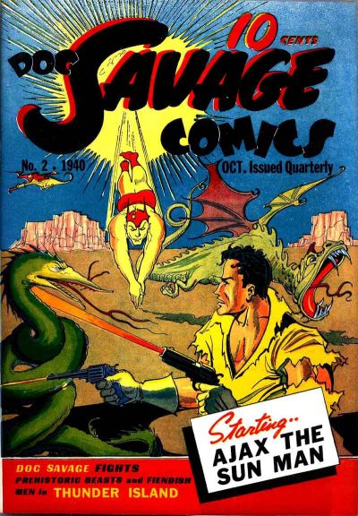 Cover for Doc Savage Comics (Street and Smith, 1940 series) #v1#2 (2)