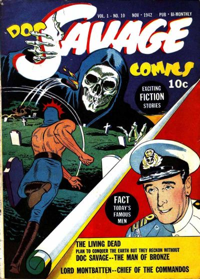 Cover for Doc Savage Comics (Street and Smith, 1940 series) #v1#10