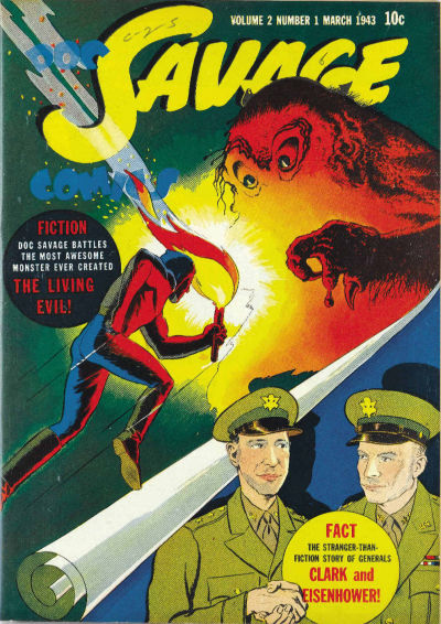 Cover for Doc Savage Comics (Street and Smith, 1940 series) #v2#1 [13]
