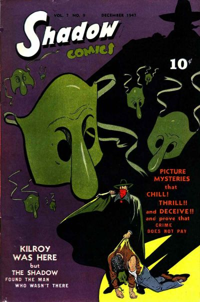 Cover for Shadow Comics (Street and Smith, 1940 series) #v7#9 [81]