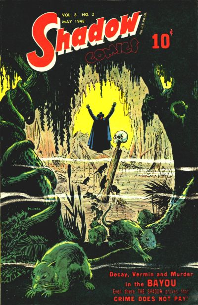 Cover for Shadow Comics (Street and Smith, 1940 series) #v8#2 [86]