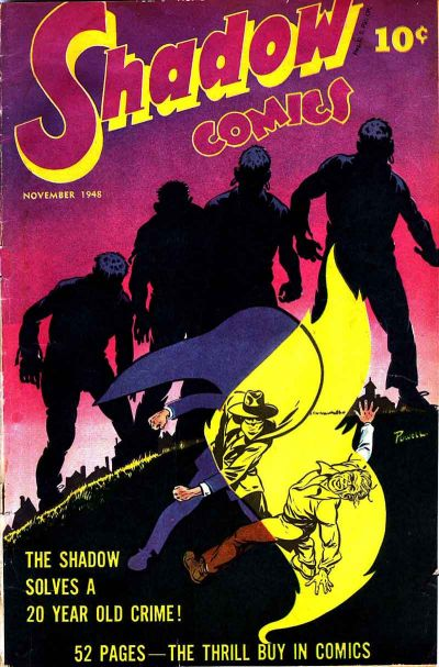 Cover for Shadow Comics (Street and Smith, 1940 series) #v8#8 [92]