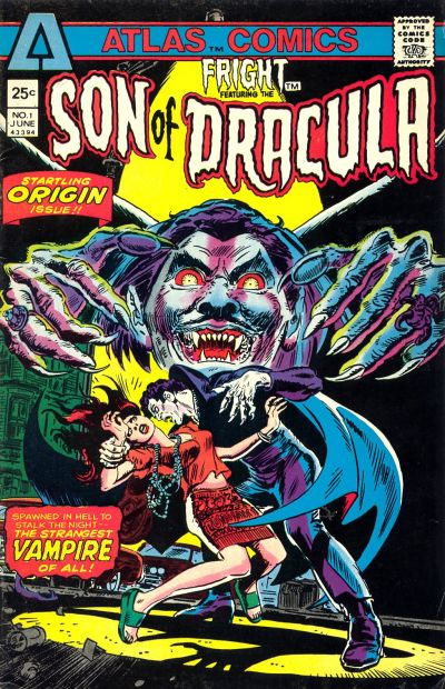 Cover for Fright (Seaboard, 1975 series) #1