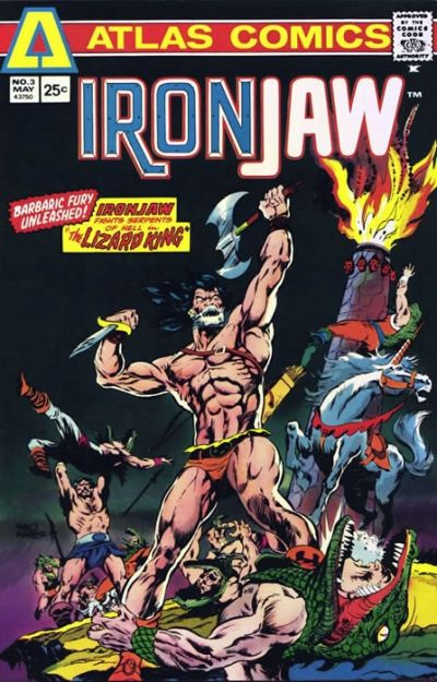 Cover for Ironjaw (Seaboard, 1975 series) #3