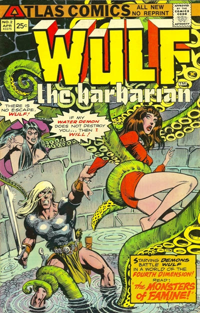Cover for Wulf the Barbarian (1975 series) #2