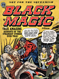 Cover Thumbnail for Black Magic Album (Arnold Book Company, 1954 series) #1