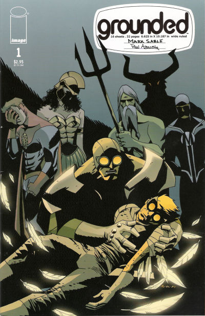 Cover for Grounded (Image, 2005 series) #1