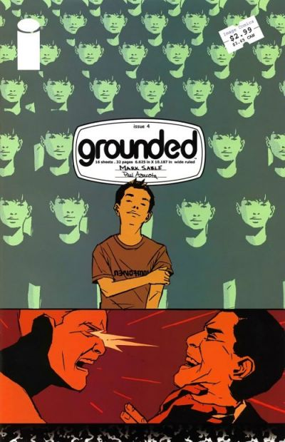 Cover for Grounded (Image, 2005 series) #4