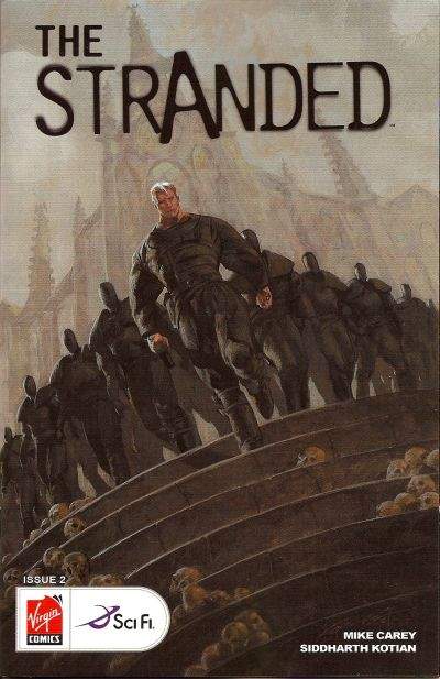 Cover for The Stranded (Virgin, 2007 series) #2