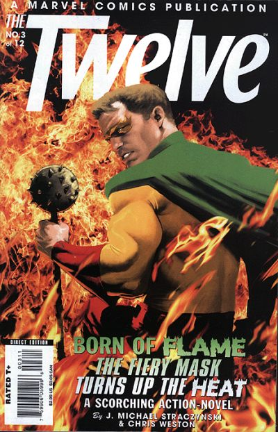 Cover for The Twelve (Marvel, 2008 series) #3 [2nd Printing Variant]