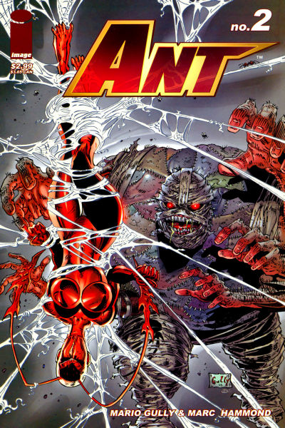 Cover for Ant (Image, 2005 series) #2