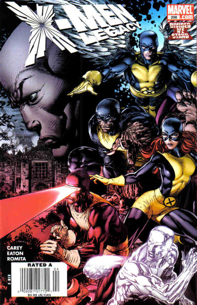 Cover for X-Men: Legacy (2008 series) #208 [Direct Edition]