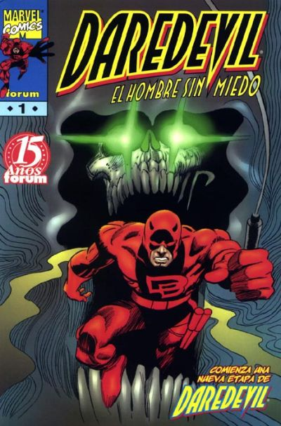 Cover for Daredevil (Planeta DeAgostini, 1998 series) #1